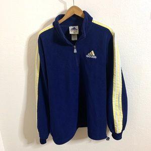 Adidas Half Zip Polar Fleece Pullover